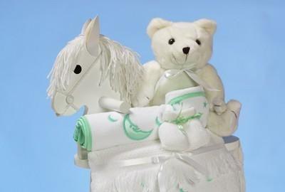 ชุดม้าโยกไม้ unisex สำหรับเด็ก
